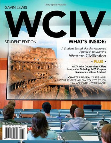 WCIV (with Review Cards with CourseMate, Wadsworth Western Civilization Resource Center 2-Semester Printed Access Card)