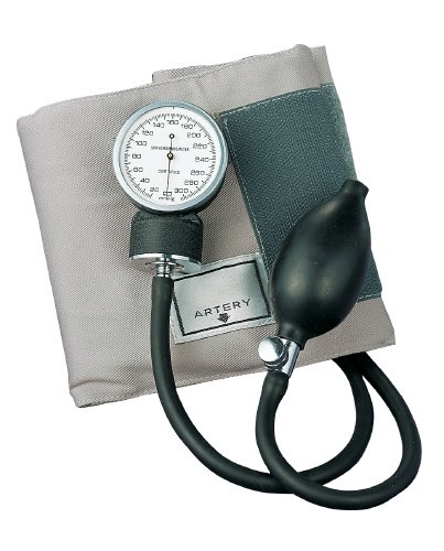 ADC PROSPHYG 770 Pocket Aneroid Sphygmomanometer, Adult, Gray (Cotton Blood Pressure Cuff compare prices)