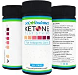 Urinalysis Test Strips, Ketone Strips for Use in Ketogenic, Paleo, and Atkins Diet, 99% Accuracy, Suitable for Diabetics