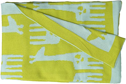 Lolli Living Mod Jacquard Knit Blanket, Mod Giraffe
