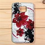 【全10色】Samsung Galaxy S2 / SC-02C / i9100 専用ケース プラスチックケース 花柄 Plastic Case for Galaxy S2 SC-02C (1380-3)