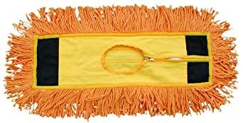 """Magnolia Brush 5218 Cotton Yarn Industrial Grade Colored Loop End Dust Mop, 18"""" Length x 5"""" Width (Case of 12)"""