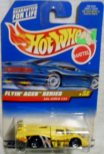 Hotwheels Flyin' Aces Series #3 of 4 Cars Col#739
