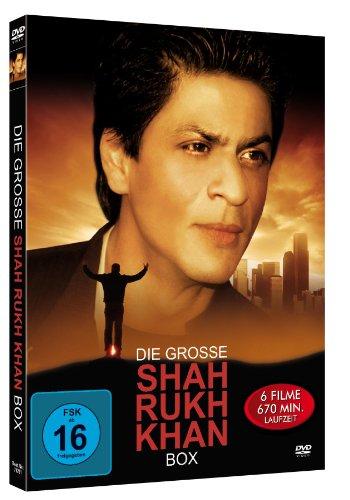 Die große Shah Rukh Khan Box (2 DVD Modularbook)