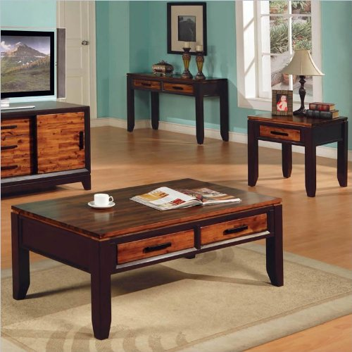 Silver Coffee Table And End Table Set: Steve Silver Abaco 3 Piece Set (Coffee Table & 2 End