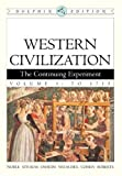 Western Civilization: The Continuing Experiment, Dolphin Edition, Volume 1: To 1715 (v. 1) (0618561919) by Noble, Thomas F. X.