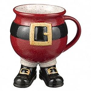 Grasslands road santa footed mug kitchen dining for Grasslands road mugs