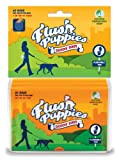 Flush Puppies Wallet including 60 Flushable Bags, Pack of 3
