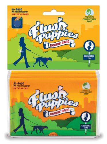 flush-puppies-doodie-bags-flushable-certified-compostable-3-on-the-go-packs-60-bags