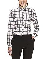 Ambigante Blusa (Blanco / Negro)