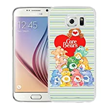 buy Care Bears White Samsung Galaxy S6 Screen Cover Case Genuine Design High Quality