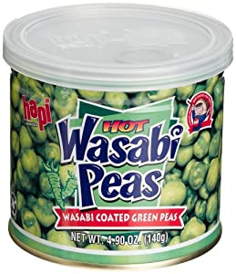 Hapi Hot Wasabi Peas 49-ounce Tins Pack Of 8 from Hapi