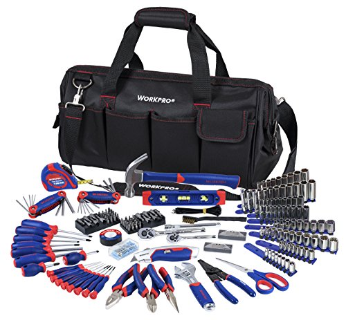 WORKPRO W009037A 322-Piece Tool Kit w/ Carry Bag (Carpentry Tool Bags compare prices)