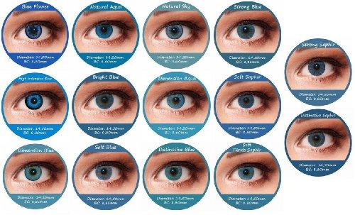 farbige kontaktlinsen blue 3 monatslinsen mit st rke 7. Black Bedroom Furniture Sets. Home Design Ideas