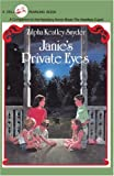 Janie's Private Eyes (0375895140) by Snyder, Zilpha Keatley