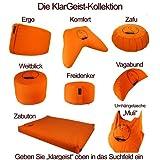 KlarGeist-Meditationskissen-fr-Anfnger-Ungelenkige-und-Fortgeschrittene-Yogakissen-und-Zafu