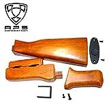 APS AK47 Type 木製ストック ハンドガードセット [並行輸入品]