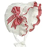 Hanakimi Birth Royal Baby Bonnet XS3M Red