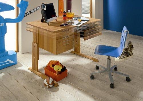 Firstloft 205-0100 Schreibtisch, Volo, Erle teilmassiv, 120 x 75 x 70 cm, geölt