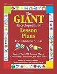Giant Encylopedia of Lesson Plans