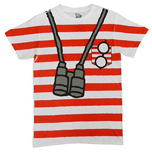 Where (Red Striped Shirt Costume)
