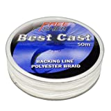 Flyline Backing 50LB 50M Weiß