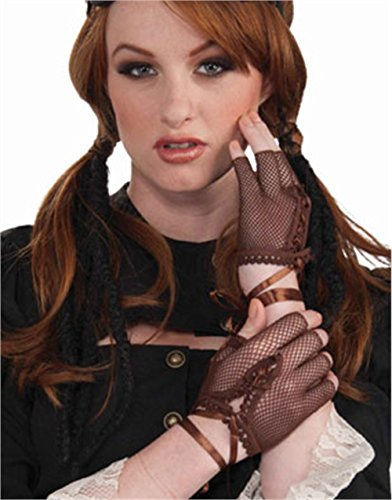 Women's Steampunk Fingerless Gloves