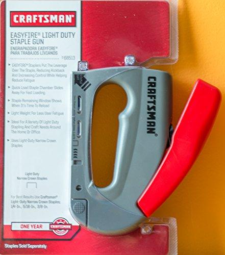 craftsman easyfire staple gun manual