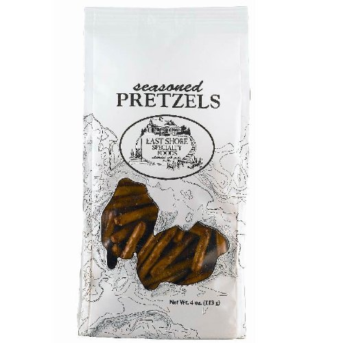 East Shore Seasoned Pretzels 4oz (Pack of 6)
