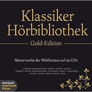 Die Klassiker Hörbibliothek Gold-Edition. 30 CDs.