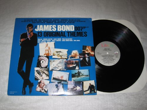 Original album cover of James Bond 007: 13 Original Themes by James Bond themes