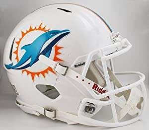 Miami Dolphins Riddell Speed Revolution Full Size Authentic NFL Proline Football... by Riddell