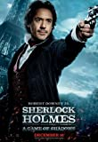 SHERLOCK HOLMES A GAME OF SHADOWS 2011 REPRODUCTION FILM POSTER 16X12