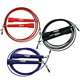 Best Overall Jump Rope for Crossfit, MMA, Boxing, or Cardio Training! Effective Fitness Accessory for Men and Women Looking to Lose Weight!