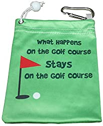 Giggle Golf - Microfiber What Happens Tee Bag by Giggle Golf