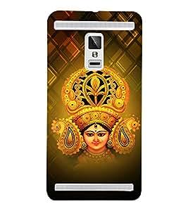 Bhavya Durga 3D Hard Polycarbonate Designer Back Case Cover for VIVO X3S