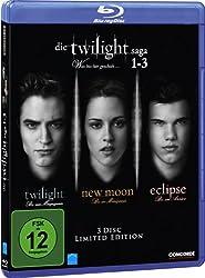Die Twilight Saga 1-3: Twilight/New Moon/Eclipse [Blu-ray] [Limited Edition]