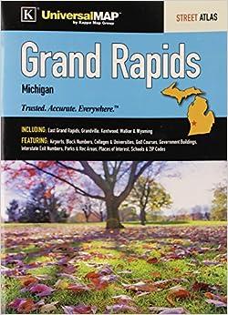 grand rapids mi street atlas kappa map group 9780762580101 books. Black Bedroom Furniture Sets. Home Design Ideas