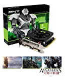 PNY Geforce GTX 650Ti NVIDIA Graphics Card (1GB, GDDR5, PCI-Ex16) with Assassins Creed 3