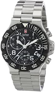 Swiss Army 241337 Silver Steel Bracelet & Case Mineral Men's Watch