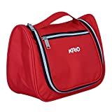 KRIO Designs RED Travel Toiletry Makeup Bag Pouch