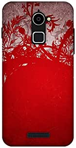 The Racoon Lean Wild Red hard plastic printed back case / cover for Coolpad Note 3 Lite