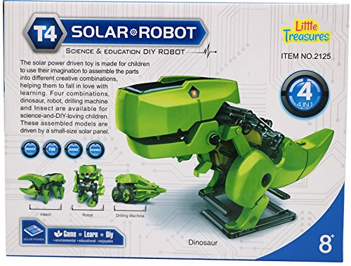 Little Treasures Solar Robot 4 In 1 Science & Education DIY Robot (Electric Robot Kit compare prices)