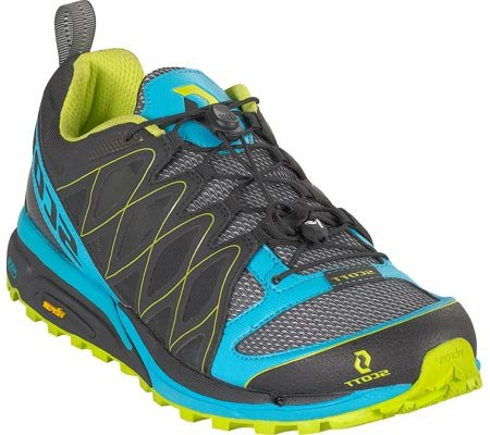 Scott 2012 Women's eRide Aztec3 Trail Running Shoe - 223665 (Black/Green - 9.5)