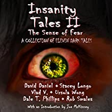 Insanity Tales II: The Sense of Fear Audiobook by David Daniel, Stacey Longo, Vlad V, Ursula Wong, Dale T. Phillips, Rob Smales, Ursula Wong Narrated by Fred Wolinsky