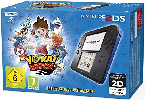 Nintendo 2DS Blue, 1 Konsole + Yo-Kai Watch, 1 Nintendo 2DS-Spiel