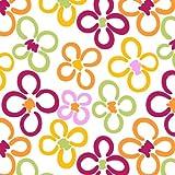 Floral Rectangular Oilcloth PVC Wipe Clean Tablecloth 140cm x 200cm 55