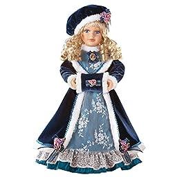 Caroline Winter Wear Porcelain Doll