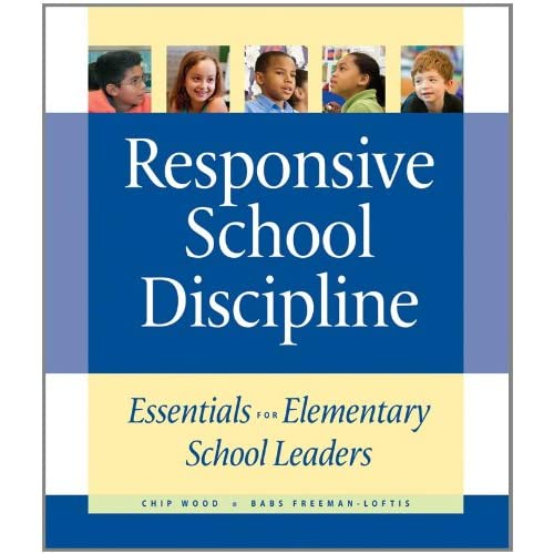Responsive School Discipline book cover