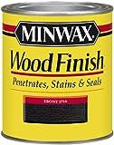 Minwax 22718 1/2 Pint Wood Finish Interior Wood Stain, Ebony